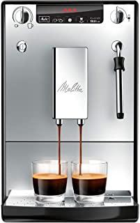 Melitta 美乐家E 953-102 全自动咖啡机Caffeo Solo & Milk 带有奶泡喷嘴,银色