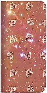 Mitas ZenFone 5 ZE620KL 手机壳 手账型 无带 宇宙 钻石 红色 (391)NB-0285-RD/ZE620KL
