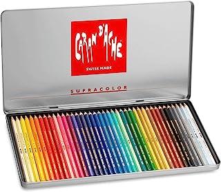 创意艺术材料 Caran D'ache Supracolor 金属盒装 40 件 (3888.340)