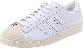 adidas 阿迪达斯 男式 Superstar 80s 侦察运动鞋 - 白色
