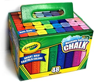 Crayola 可洗双面粉笔,48 种鲜艳色彩