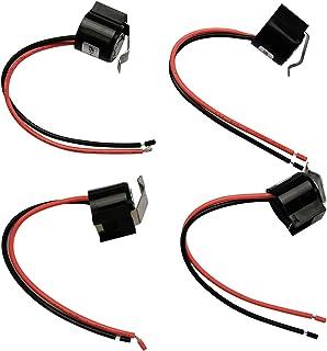 4 件装冰箱双金属除霜温控器替换件适用于 Whirlpool KitchenAid Kenmore 冰箱 W10225581 WPW10225581 PS11750673 2149849 AP6017375