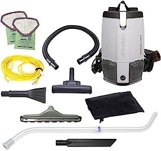 ProTeam ProVac FS 6 商业背包真空工具包 灰色 6 Quart Backpack 107426,需配变压器