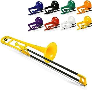 pBone 塑料长号,带吹嘴和携带袋 - Bb 学生初学者 - 黄色