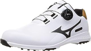Mizuno 美津浓 高尔夫球鞋 NESLET 008 Boa系带系统 无钉鞋 男士 3E 51GM2125