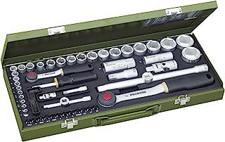 Proxxon 23040 插座套装,0 伏,多色,1/4 英寸,56 件套
