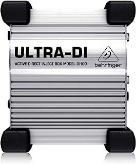 Behringer 百灵达 Ultra-DI DI100 DI 盒
