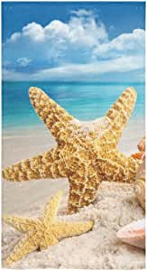 Crystal Emotion 定制扎染彩虹冥想海滩浴巾浴室身体淋浴巾浴巾浴巾适用于家庭、户外和旅行使用 颜色 2 多种 43224-2259