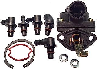 TEW Inc. 新款燃油泵 适用于 Kohler 5239317-S 5255901-S 5255903-S 适合 KT17 KT17II KT19II KT21 M18