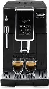 De'Longhi 德龙 Dinamica ECAM 350.15.B全自动咖啡机(1450W,数字显示屏,新型卡布其诺系统,一键制备喜爱的饮品,可拆卸冲泡组件,同时制备2杯) 黑色