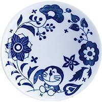 哆啦A梦 波佐见烧 盘子 小碟子 直径10厘米 花朵 009176