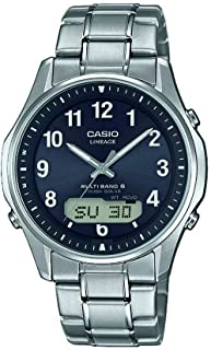 CASIO Herren Analog Quarz Uhr mit Titan Armband