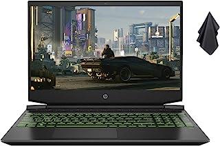 2021 新款 HP Pavilion 15.6 英寸 FHD 游戏笔记本电脑,AMD 6 核 Ryzen 5 4600H 高达 4.0 GHz(Beats i5-9300H),16GB 内存,256GB SSD + 1TB 硬盘,Nvidia...