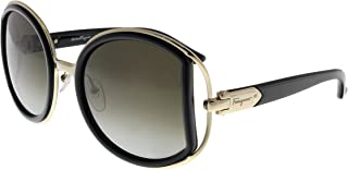 Salvatore Ferragamo SF719S-001 Ladies Black SF719S Sunglasses