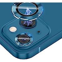 JOLOJO 相机镜头保护套兼容 iPhone 13/13mini 钢化玻璃,超清晰 [适合手机壳] [防刮] 防碎/防…