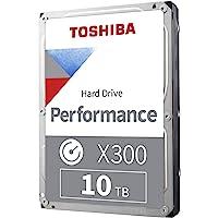 东芝 X300 桌面 3.5 英寸 SATA 6Gb/s 7200rpm 内置硬盘 10 TB