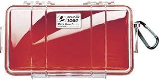 鹈鹕 1060 微型手机壳(红色带透明盖)(日本进口)