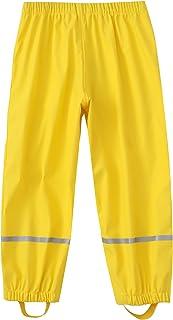Hihtheart 男孩女孩防水雨裤轻质单层外套雨衣
