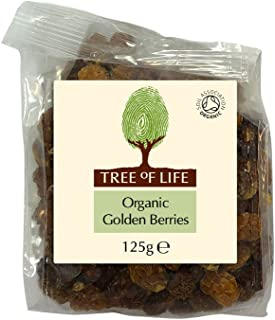 Tree of Life Organic Golden Berries 125 g (Pack of 6)