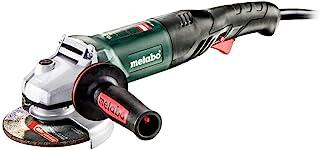 Metabo - 5英寸(约12.7厘米)角度研磨机 - 10,000 转/分钟 - 10.0 安培 W / 锁定,RAT 尾部(US601240762 1200-125 Rt 锁定),性能研磨机
