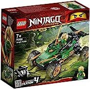 LEGO 71700 NINJAGO Legacy Jungle Raider Car with Lloyd 迷你公仔,元素锦标赛套装