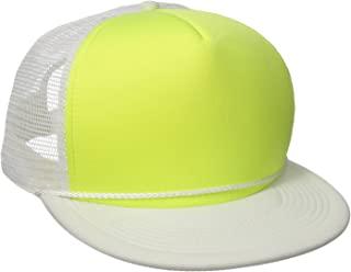 DECKY Flat Bill Neon Trucker Cap