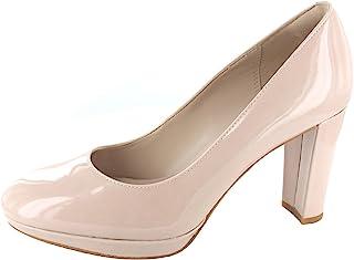 Clarks 女士Kendra Sienna 封闭脚趾高跟鞋
