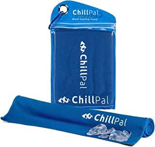 Chill Pal 终极网眼冷却毛巾 - 超长 30.48 x 101.6 厘米 蓝色 12 x 40 inch