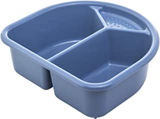 Rotho Babydesign 洗手盆,4升,0个月以上,TOP/Bella Bambina,冷蓝色(蓝色),20006 0287