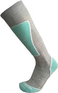 Ultimate Socks 女式轻质美利奴羊毛滑雪滑雪滑雪鞋