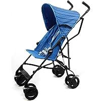 意大利 Chicco 智高 Snappy轻便婴儿推车 可折叠伞车(彩蓝色)(适合6个月-3岁宝宝 防滑手柄 一键双刹 可…