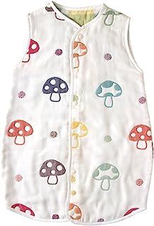 Hoppetta 10mois 蓬松纱布(6层纱布) 2way儿童睡衣 棉100% 适合2~7岁左右 蘑菇图案