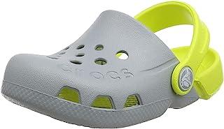 Crocs 卡骆驰 儿童洞洞鞋 Electro系列 儿童元气平底休闲鞋凉拖鞋 深蓝色/电光蓝色 835772