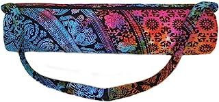 印度工艺城堡嬉皮瑜伽垫背带肩带瑜伽垫包健身包沙滩包
