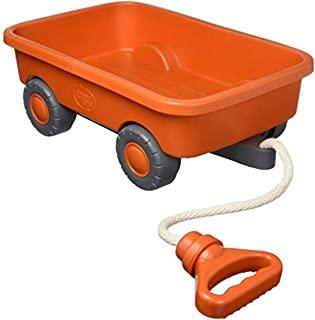Green Toys 四轮车 - 橙色封闭盒