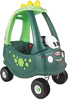 Little Tikes 恐龙舒适双门跑车-带真正的喇叭,点击式点火开关和油箱盖