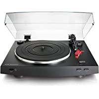 audio-technica 铁三角 AT-LP3BK 全自动皮带驱动立体声转盘,黑色