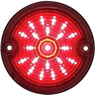 United Pacific 37098 21 LED 3 1/4 英寸(约 8.9 厘米)哈雷信号灯,带 1157 插头