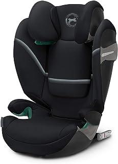 Cybex Solution S i-Fix 汽车座椅,深黑色