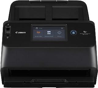 Canon 佳能 4812C001 DR-S130 imageFORMULA 文档扫描仪(60 ipm,60 页 ADF,紧凑型桌面扫描仪)黑色