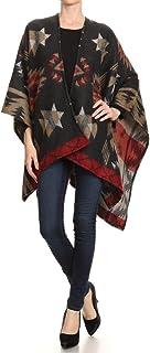 BSB LL 毛毯前开襟斗篷Ruana 针织开衫毛衣披肩包裹多种款式