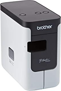 Brother 兄弟 PC标签机 PT-P700(适用于3.5至24毫米宽的TZe胶带,打印速度高达30毫米/秒)