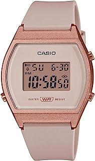 Casio 卡西欧 女式石英运动手表 树脂表带 粉色 21(型号: LW-204-4ACF)