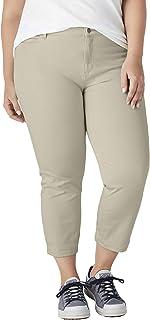 dickies 女士完美形状斜纹七分裤