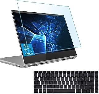 14 英寸 HP Pavilion X360 笔记本电脑屏幕保护膜,防蓝光眩光,适用于 14-baXXX 14m-baXXX HP 14-BA 系列,带键盘盖,*保护过滤器可阻挡紫外线并减少指纹。