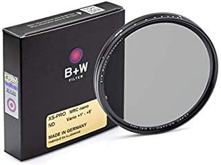 德国 B+W 77mm MRC NANO 纳米多层镀镆可变ND减光镜 画质高的可调密度ND镜