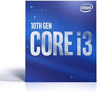 Intel 英特尔 Core i3-10100 台式机处理器 4 核高达 4.3 GHz LGA1200(Intel 400 系列芯片组)65W,型号:BX8070110100