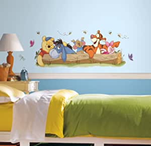 RoomMates RMK2553GM Winnie The Pooh Outdoor Fun 即剥即贴大型墙贴
