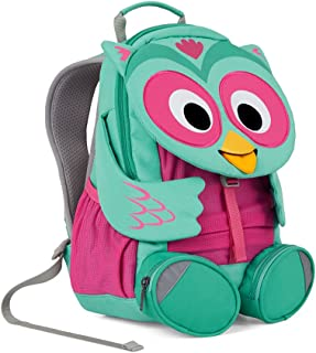 Affenzahn 幼儿园儿童背包适合男女学龄前儿童,适合 1-5 岁儿童 Olina Owl 3-5 years old - Large Friends