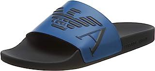 Emporio Armani 男士泳装 Monogram Slide 凉鞋